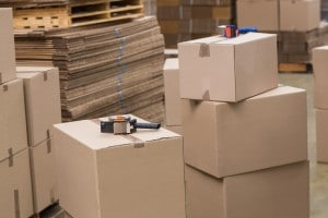 Preparation of goods for dispatch
