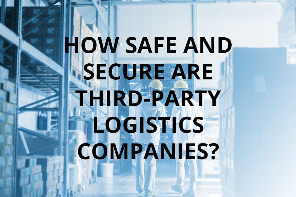 Third-party logistics company workers in a warehouse